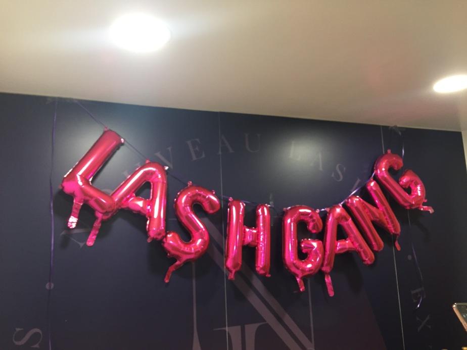 #LashGang turned 1